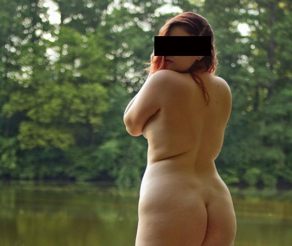 Plan sexe sympa avec une jolie BBW nue